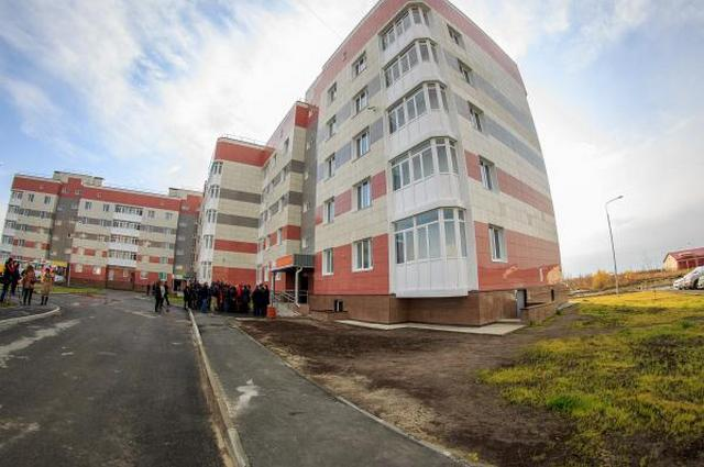 Первый доходный дом Югры появился в Нефтеюганске осенью 2014 года.