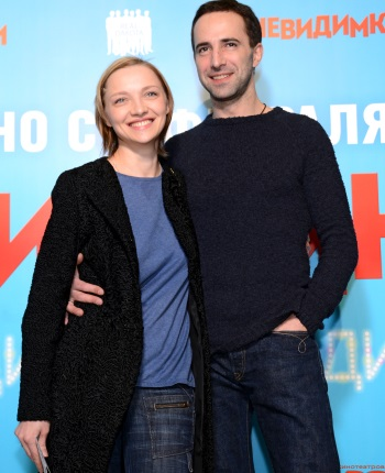 Екатерина Вилкова с мужем Ильёй Любимовым