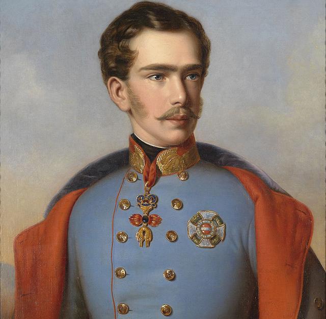 Франц Иосиф в 1855 году
