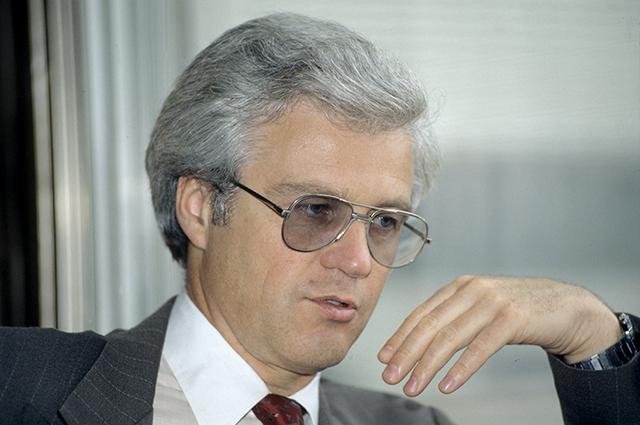 Виталий Чуркин, заместитель министра иностранных дел Российской Федерации, 1994 год.