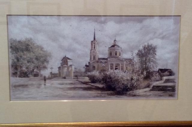Одна из картин Ефремова.