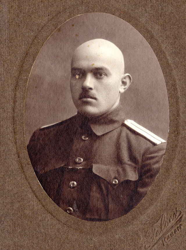 Константин Никитин - офицер медслужбы царской армии.