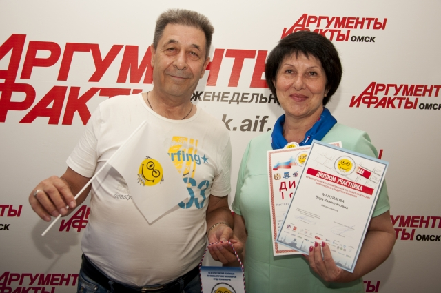 Николай Хохлов и Вера Мануйлова