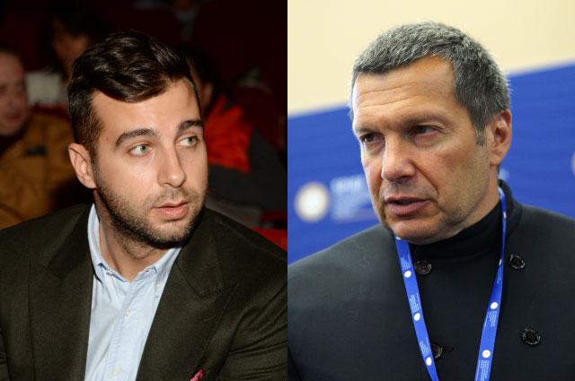 Иван Ургант и Владимир Соловьев.