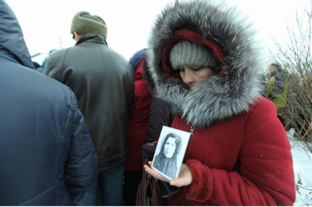 Верующие совершили крестный ход к могиле Евдокии Маханьковой в Чудиново.