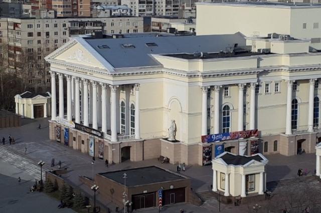 Тюменский драмтеатр.