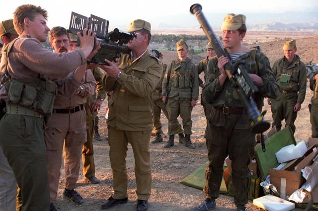 Советские спецназовцы захватили ПЗРК «Стингер».