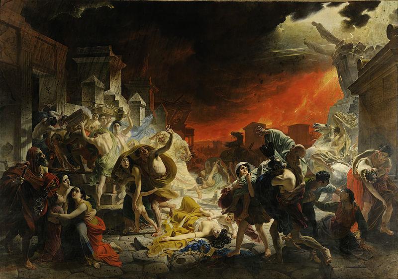 «Последний день Помпеи». Карл Брюллов.