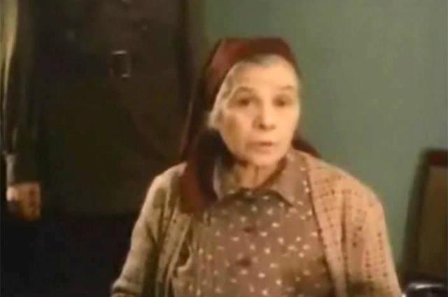 В роли Аннушки. «Мастер и Маргарита», 1994 год.