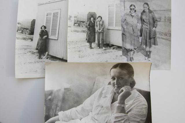 Людмила Ушакова в молодости.