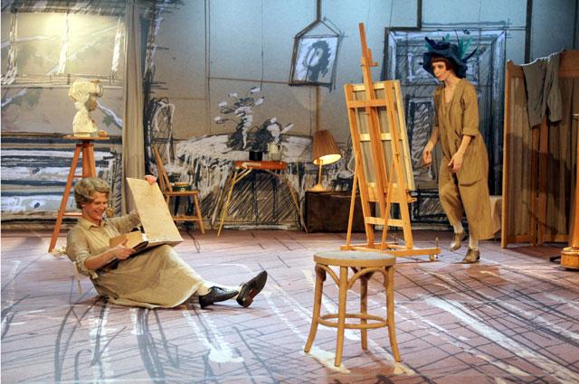 Сцена из спектакля Рождество О.Генри