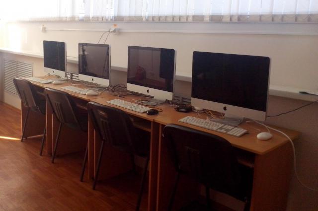 Чебоксарский детский дом, компьютерный зал