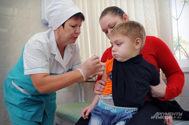 Плановая вакцинопрофилактика позволила снизить заболеваемость в тысячи раз.