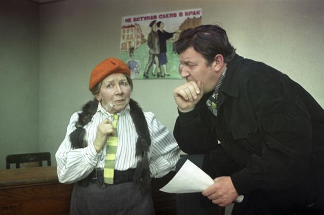 Рина Зеленая в фильме «12 стульев»