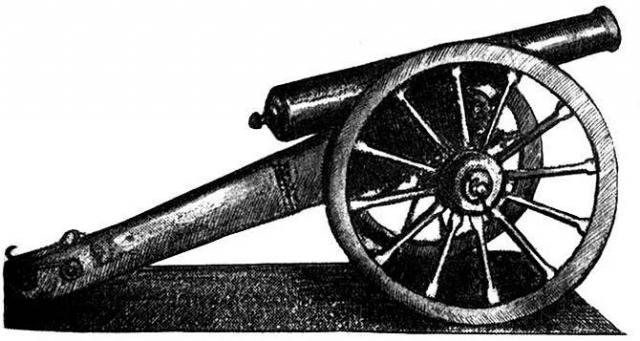 Стальная пушка Обухова