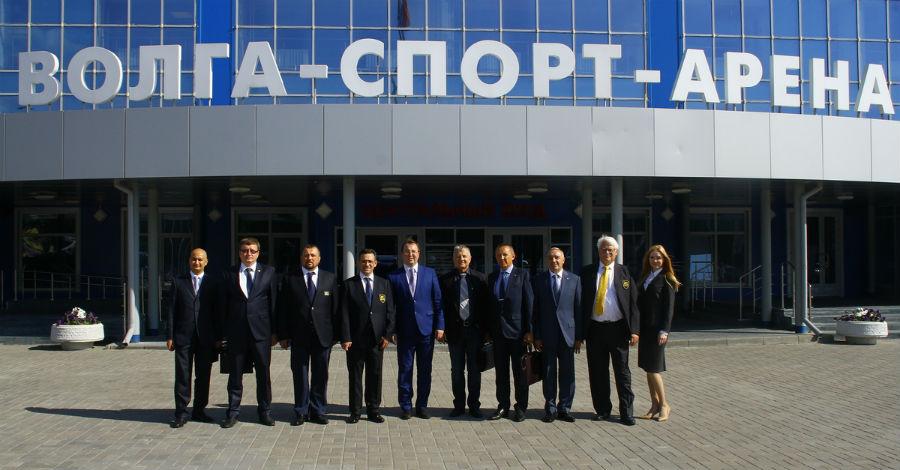 Делегация Европейского Союза Тхэквондо в Ульяновске.