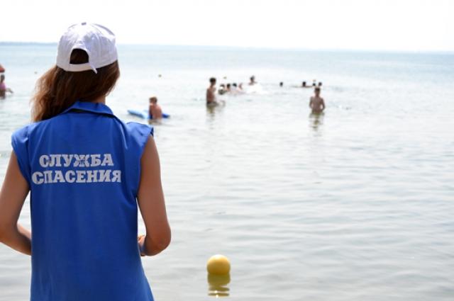 70 матросов-спасателей официально открыли купальный сезон и заступили на посты.