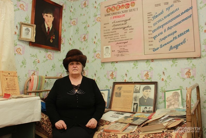Мать Вячеслава Александрова провела по музею сотни экскурсий
