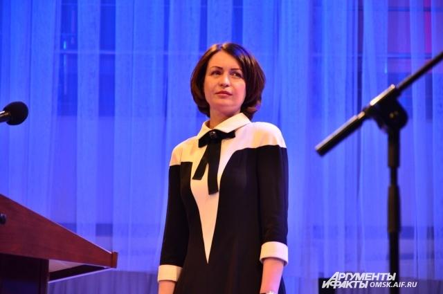 Новый мэр Омска - Оксана Фадина.