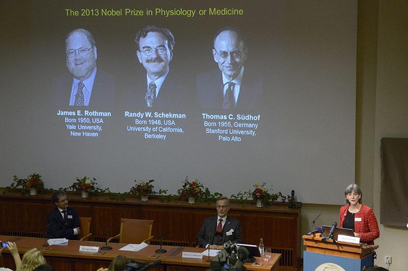 Лауреаты Нобелевской премии по медицине