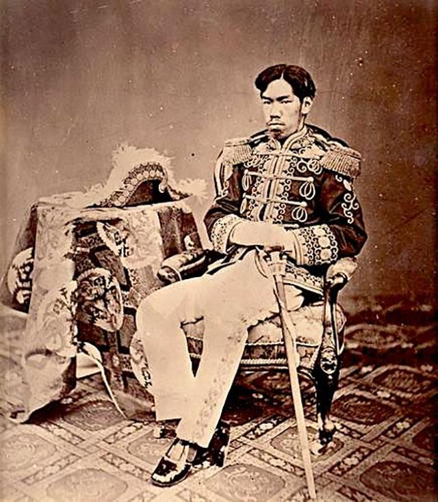 Император Мэйдзи, 1873 г.