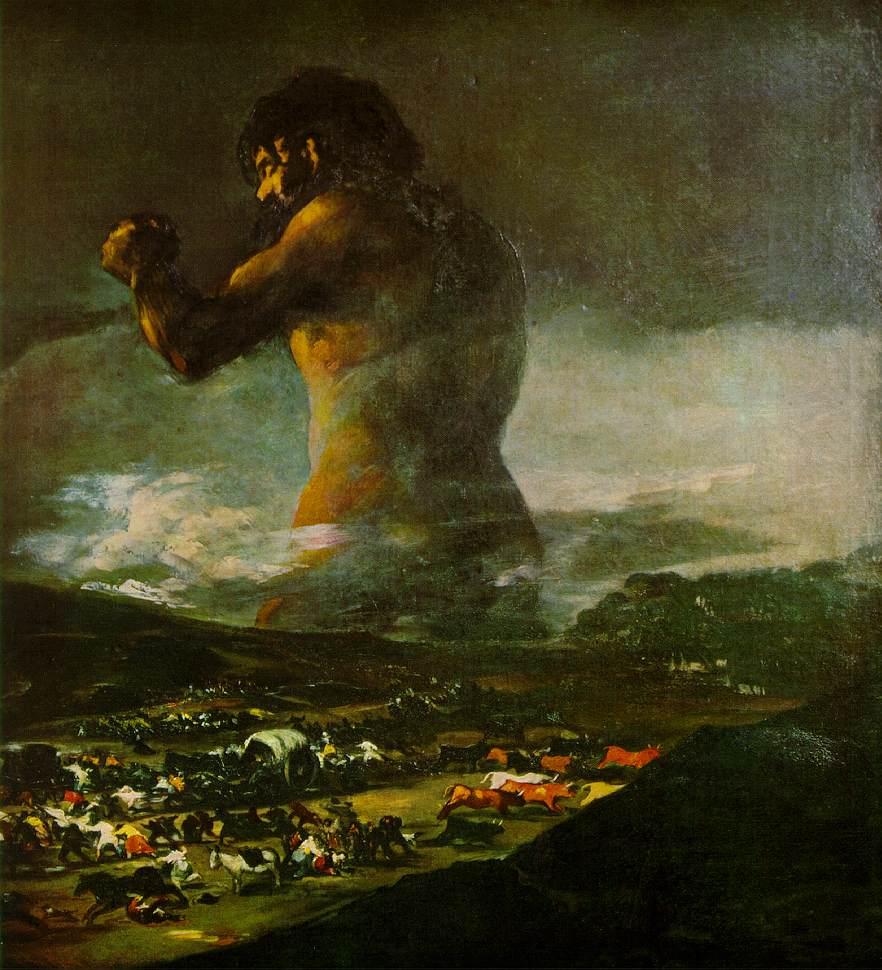 Франсиско Хосе де Гойя, Колосс