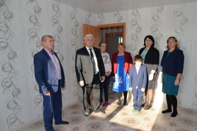В новом доме семьи Чунчуринских большие и уютные комнаты.