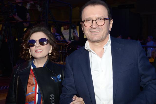 Диана Гурцкая и Роберт Гурцкой.