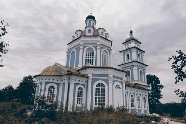 Скит в деревне Столбушино Новоржевского района, где будет нести покаяние о.Серафим