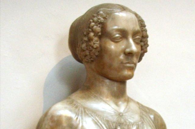 Андреа Вероккьо, т. н. Флора предполагаемый портрет Лукреции Донати, ок. 1480