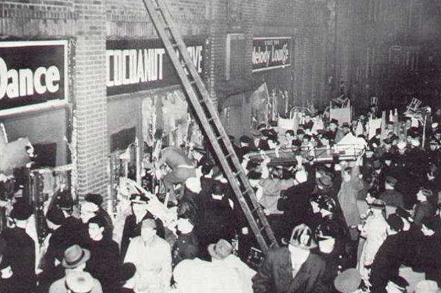 Пожар в бостонском клубе Кокосовая Роща