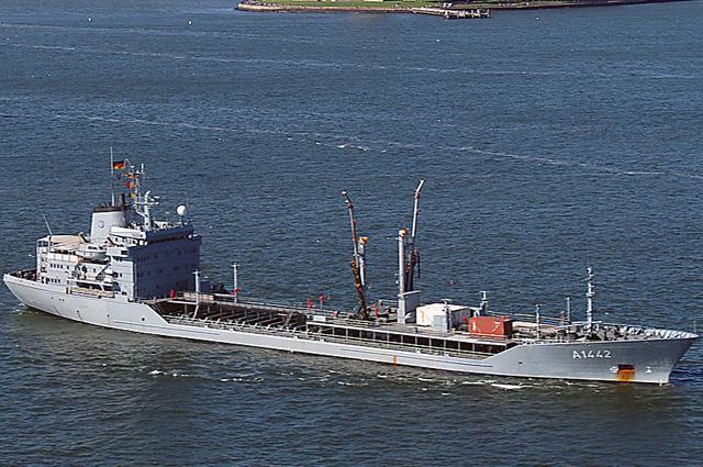 Танкер Шпессарт ВМС Германии