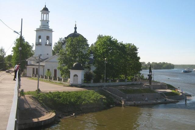 В честь победы в Невской битве в Усть-Ижоре была построена церковь.