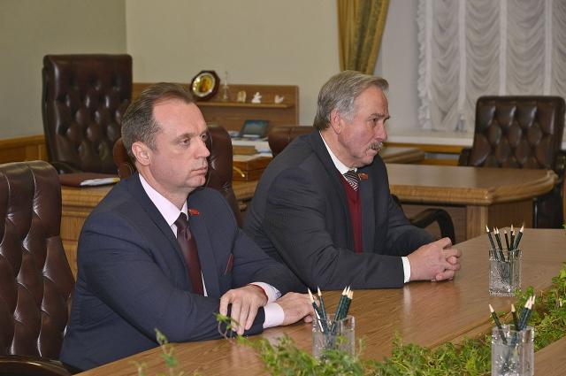 Степан Понасов поблагодарил за встречу и выразил надежду на совместное решение задач области.