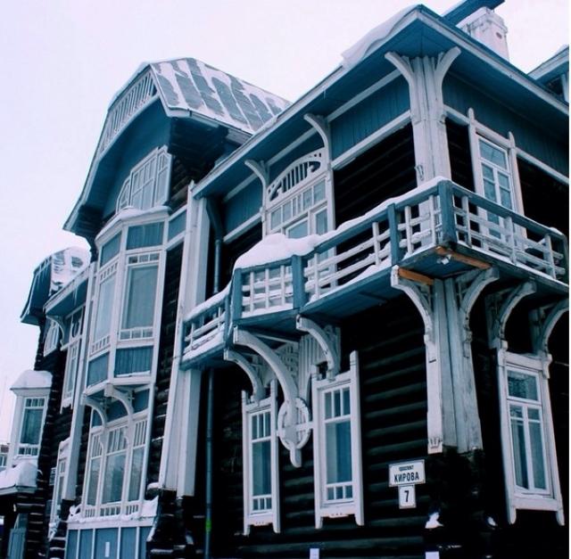 Дом архитектора Крячкова
