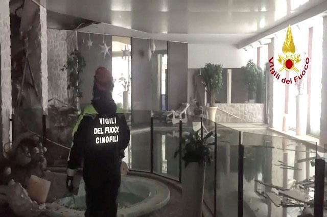Отель Rigopiano di Farindola.