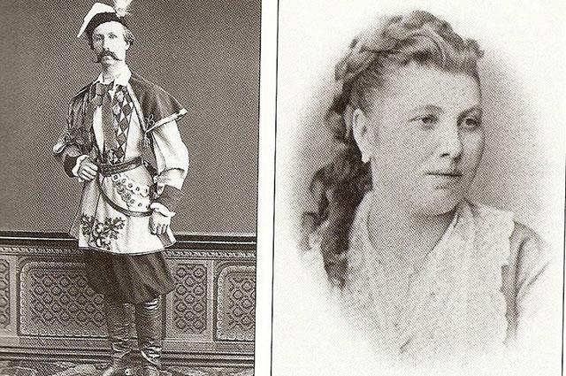 Феликс Кшесинский и Юлия Доминская.