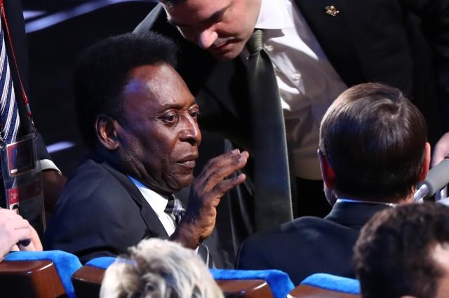 Пеле тоже был в зале.