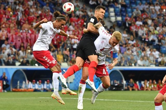 Датская команда провела свою лучшую игру на турнире.