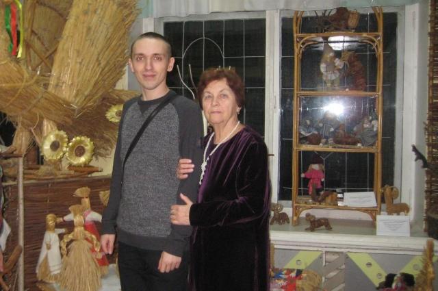 Максим Стельмак и Галина Коршункова в Железноводске Курской области.