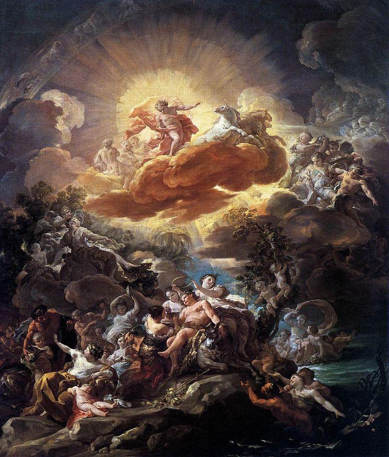 Коррадо Джаквинто. Рождение Солнца и триумф Бахуса.