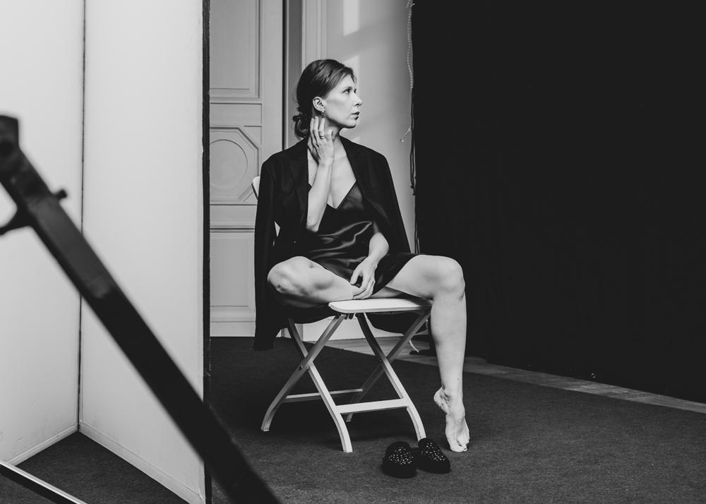 Актриса Юлия Шарова насъемке проекта «Химия была, номырасстались».