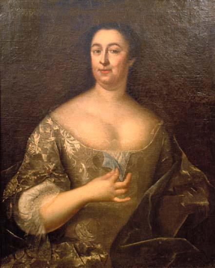 Марфа Остерман. Портрет кисти Франкарта, 1738 г.