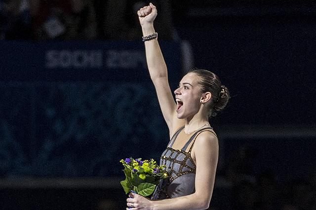 Аделина Сотникова на Олимпиаде в Сочи