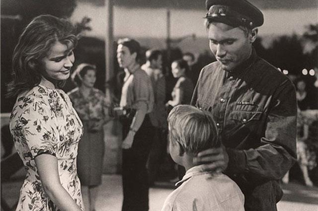 Тамара Семина и Василий Шукшин в фильме «Два Фёдора», 1958 год