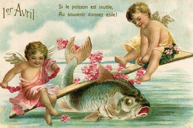 Во Франции многие шутки были связаны с рыбами.