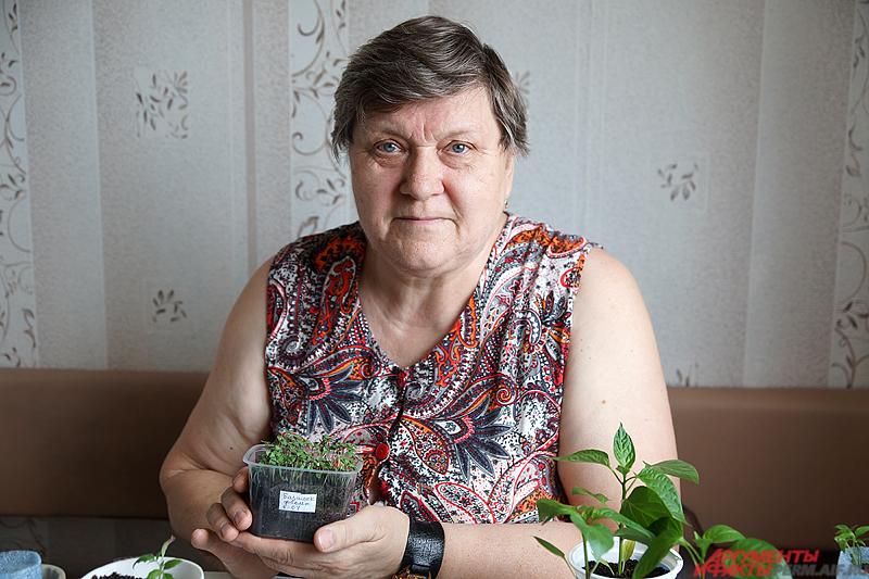 67-летняя Валентина Соколова занимается огородом больше 30 лет.