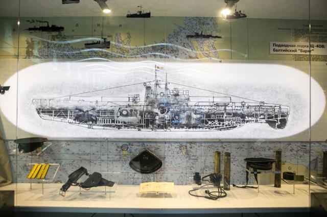 Экспонаты музея, посвященного подвигу «Балтийского Варяга».