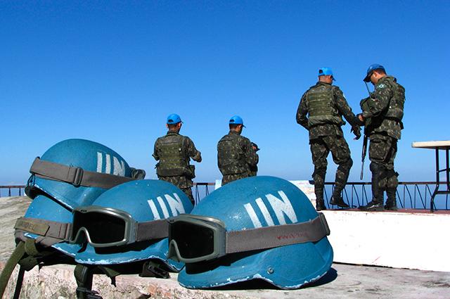 Миротворцы ООН.