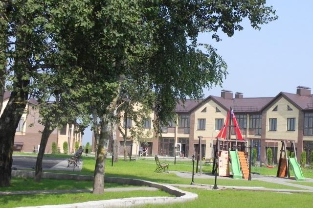 «Андреевский парк» благоустраивается.